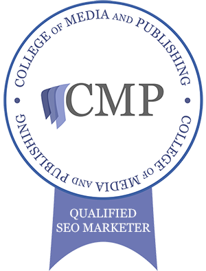 CMP College of Media & Publishing Qualified SEO Marketer