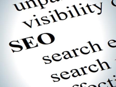 SEO dictionary listing between visibility and search